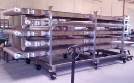 Multi Level Drying Heating Powerbelt Conveyor Systems